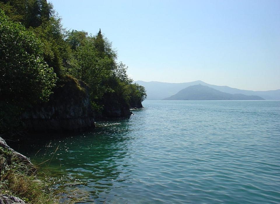 Jezero Lago d´Iseo