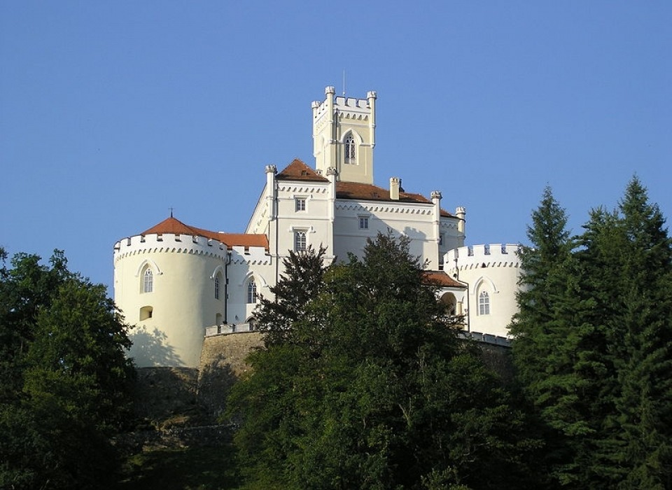 Hrad Trakošćan
