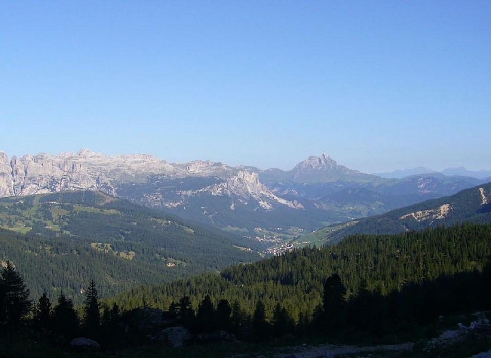 Dolomiti - horské pásmo Sella