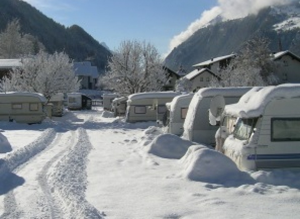 Dreiländereck Camping - celoroční kemping