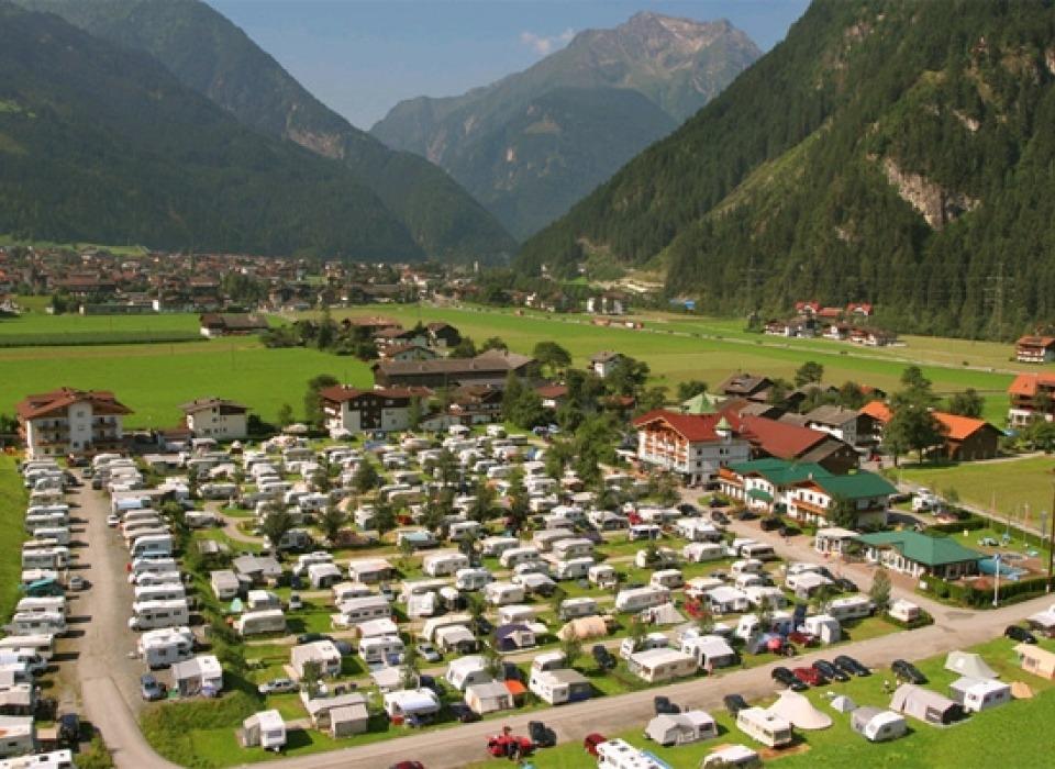 Camping Mayrhofen - celoroční kemping