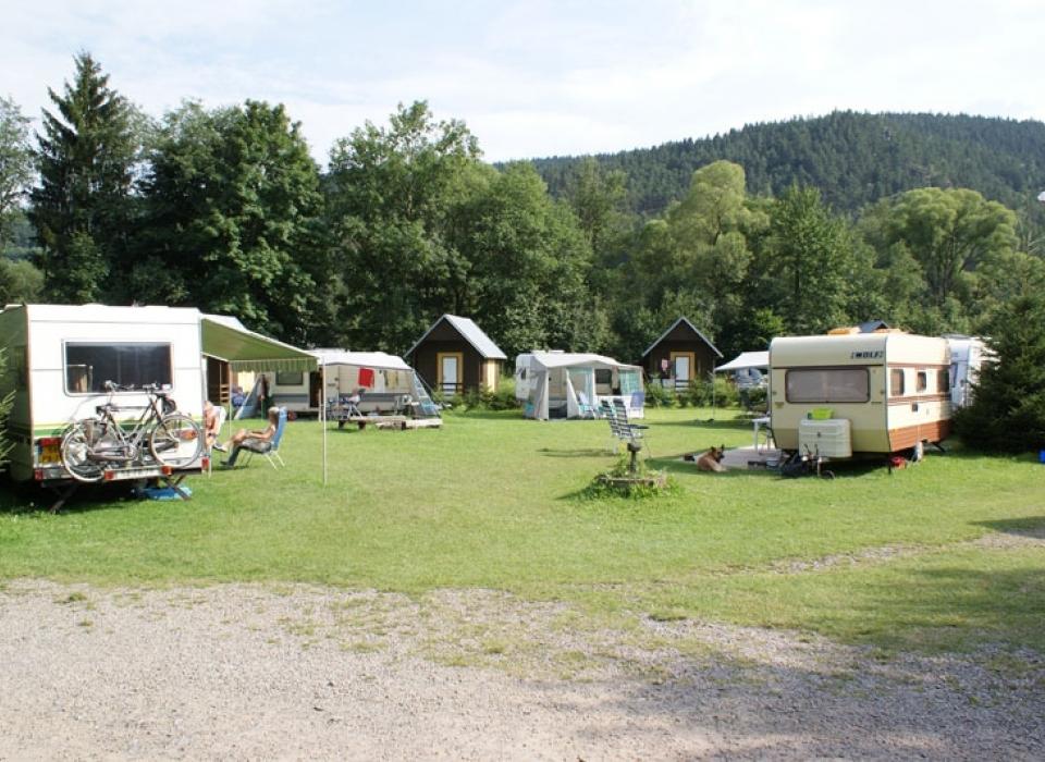 Camping Klášterský Mlýn - celoroční kempování
