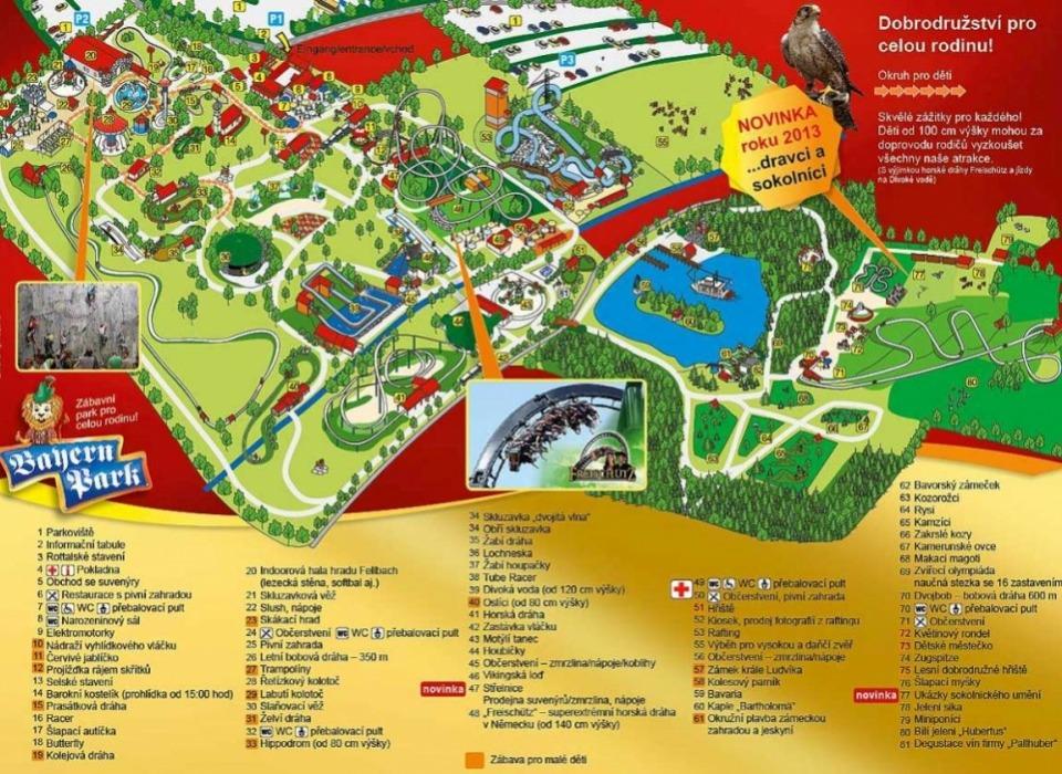 Bayern Park - zábavní park