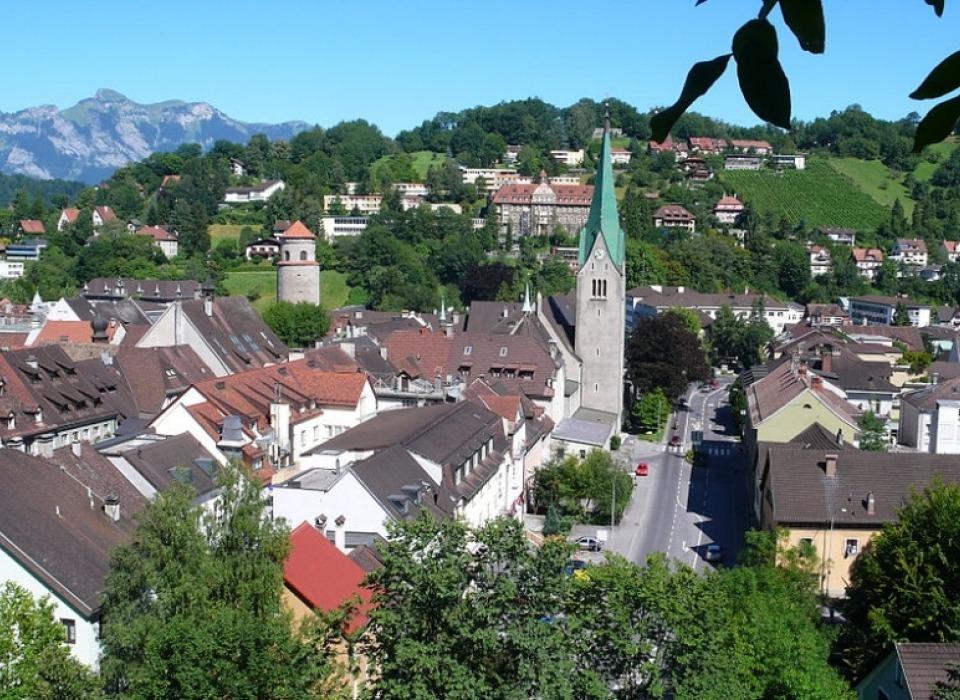 Feldkirch - středověké město