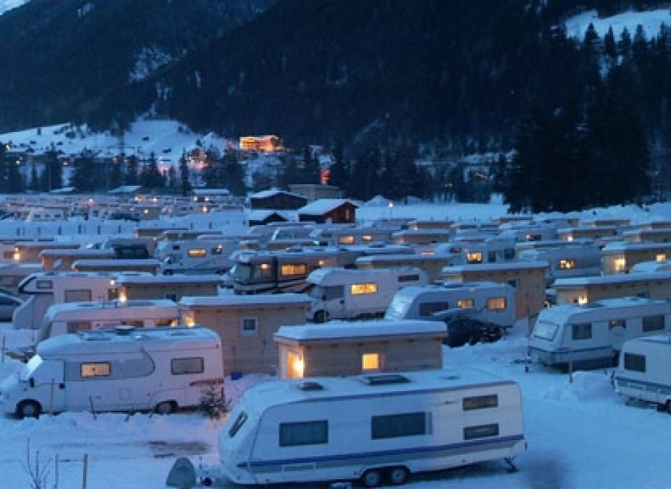 Camping Arlberg - celoroční kemping